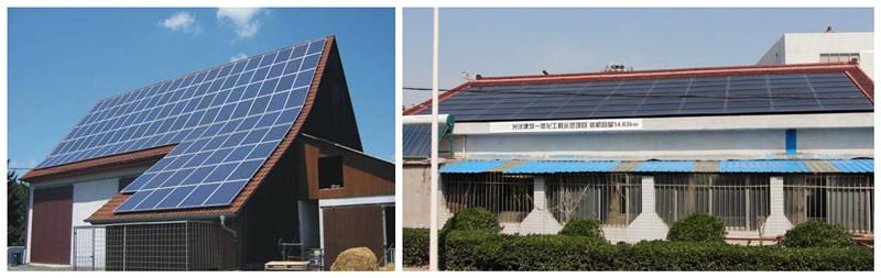 家用屋顶光伏发电系统集成