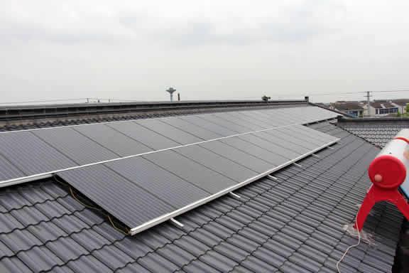 您家有会发电的屋顶吗论速度?