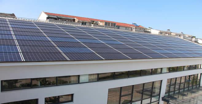 友科太阳能携手英利38KW光伏建筑一体化项目竣工